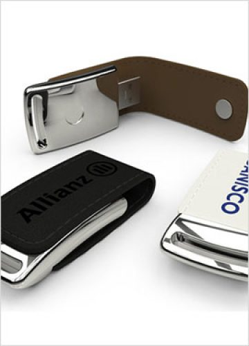 Leather USB Drive FTU-L401