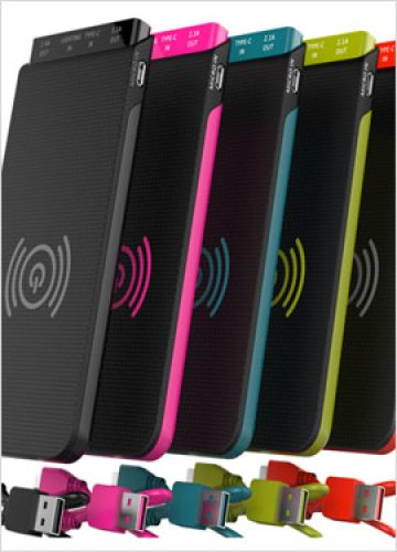 10000mAh Wireless Power Bank with 8GB-128GB Capacity (Optional)